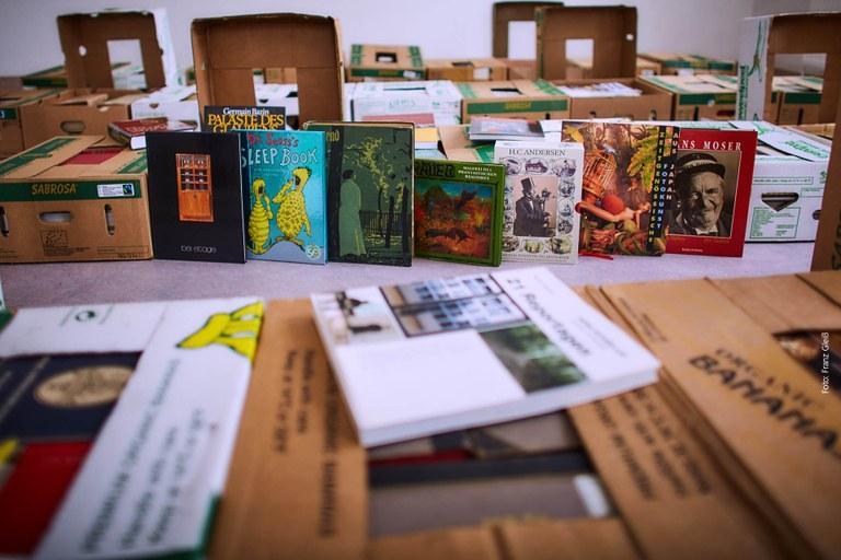 Bücherflohmarkt im Advent